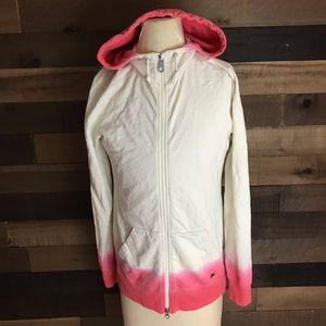 Nike 6.0 white and pink hoodie sweater women's S